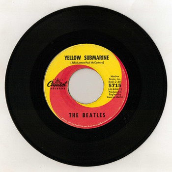 "45rpm Record - ""The Beatles"" (1966)"