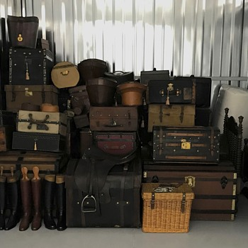 Most Of My Trunks Stored Away - Furniture