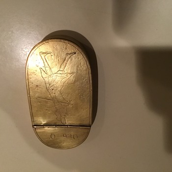 Brass snuff box. .....is it the real deal? - Tobacciana