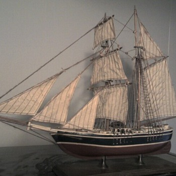 """Brigantine """"Newsboy"""" of Boston 1854 - Toys"""