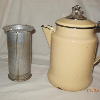 "Interesting ""vintage"" coffee pot"