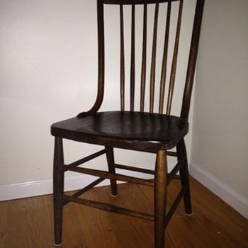 Antique Oak Side chairs - Furniture