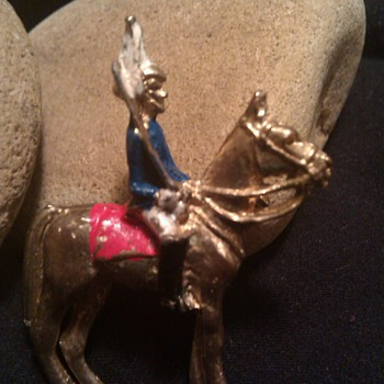 napolian on horse brooch - Fine Jewelry