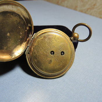 Perrete and Company London Patent Lever 13 Jewels Pocket Watch