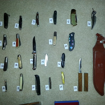 inherited knife collection