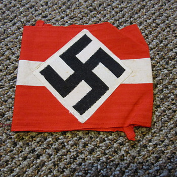 WWII Hitler Youth arm band. - Military and Wartime