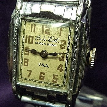 Babe Ruth mystery watch - Baseball