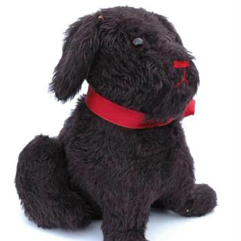 chien en peluche  1ere moitié du XXè siècle - Toys