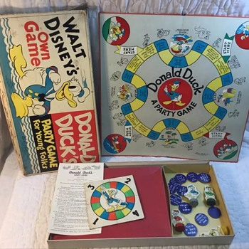 1938 Donald Duck game for young folks - Games