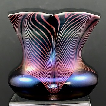 Poschinger, Buchenau Art Glass Vase designed by Karl Schmoll von Eisenwerth - Art Glass