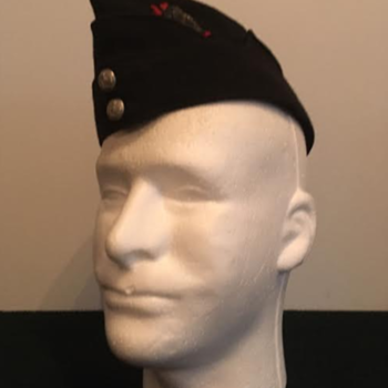 WWII Victoria Rifles of Canada Officer's Side Cap - Military and Wartime