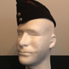 WWII Victoria Rifles of Canada Officer's Side Cap