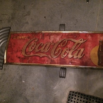 Coca Cola Sign and aluminum pieces?? - Coca-Cola