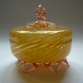 Welz Lidded Bowl