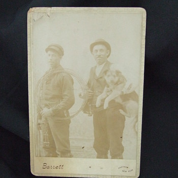 Cabinet card of Telephone Line workers