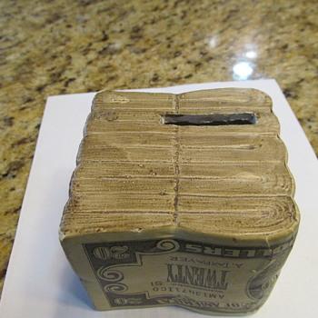 Ty dollars 20 dollar bill chalkware  - Coin Operated