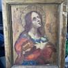 Spanish painting on wood
