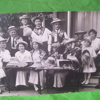 CONFOUNDING RPPC, I CAN'T GRASP WHAT IS GOING ON HERE!  CAN YOU? - Photographs