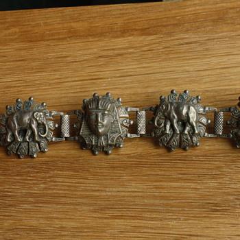 Egyptian revival bracelet - Costume Jewelry