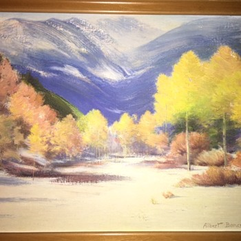 Albert Bancroft Original Oil Painting - Fine Art