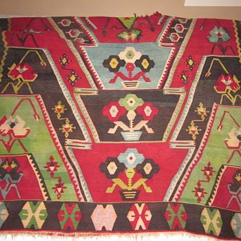 Heavy, big, beautiful rug