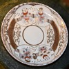 Japanese Plate with Raised Gold