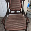 Antique Upholstered Arm Chair No Markings Any Ideal Of Mfg. Or Age???