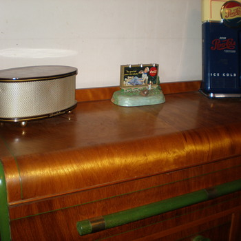 Top of the vintage buffet - Furniture