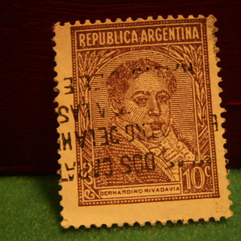 Vintage Republica Argentina 10c Stamp