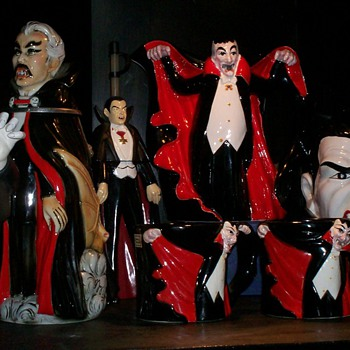Bat & Dracula collection - Pottery