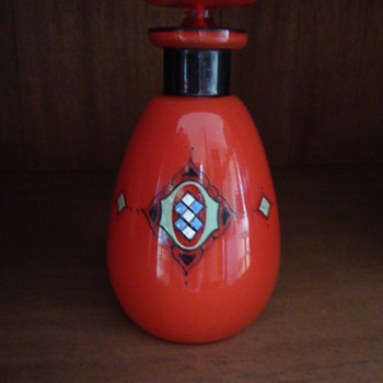 perfume bottle - Art Glass