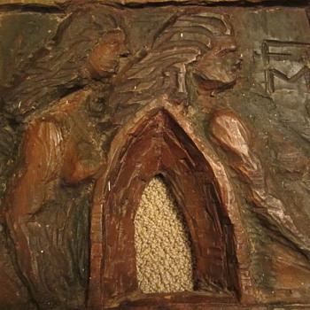 Old wall art carving - Folk Art