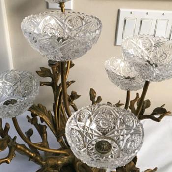 Dav art ny Epergne - Glassware
