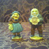Old Couple Figurines