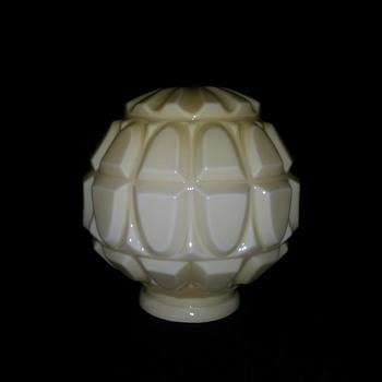 Rare shaped globe.