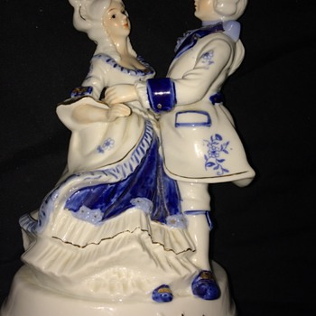 Victorian dancing couple