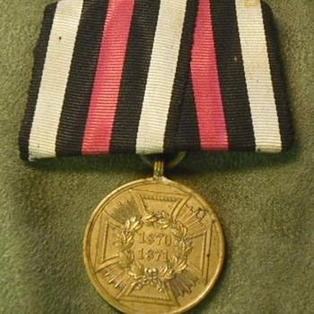 Flipped German War Medal of 1870-71