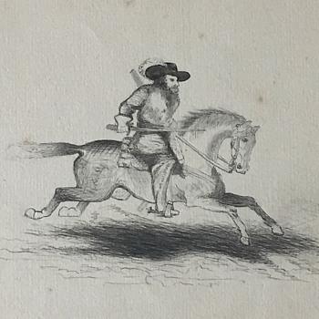 Civil War Era Sketchbook Artist Drawings - Fine Art