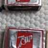 7 Up matchbox.