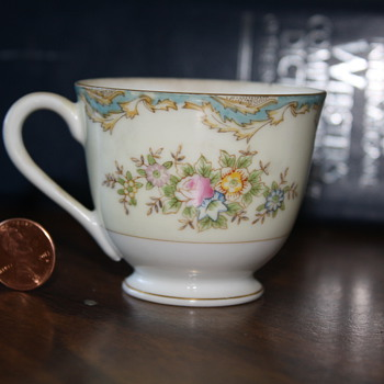Vintage Teacup with markings - China and Dinnerware