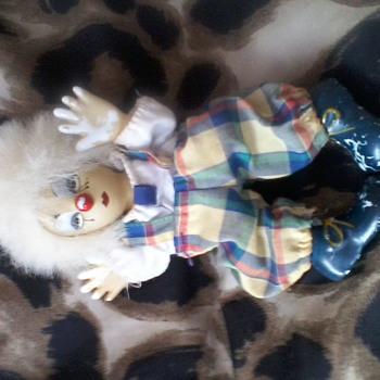 An old clown doll - Dolls