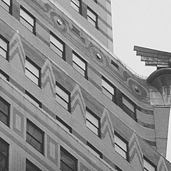Chrysler Building Detail - Art Deco