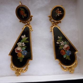 Victorian earrings - Fine Jewelry