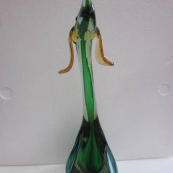 Murano Glass   Dog - Art Glass