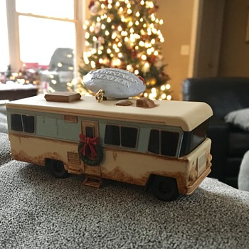 Hallmark Christmas vacation items.  - Christmas