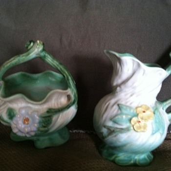 Weller pieces - Pottery