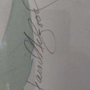 artists signature