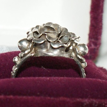 Vintage (or antique?) European Silver Ring - Fine Jewelry