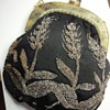 Antique Cut Steel (magnetic) Handmade Brodary Evening Bag