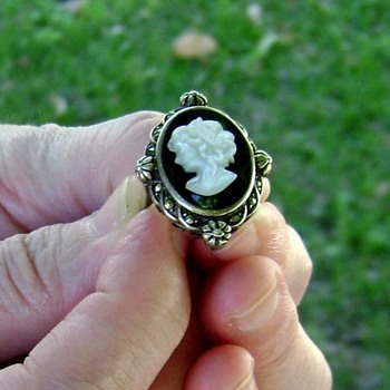 Silver Cameo Ring - Fine Jewelry
